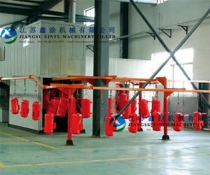 空压机涂装线,喷涂线,喷涂生产线