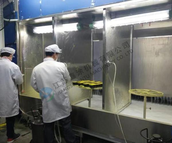 上海水帘喷胶室