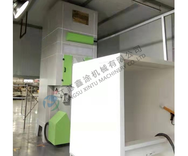 吴中自动循环回收再利用喷绒设备