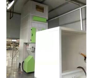 自动循环回收再利用喷绒设备
